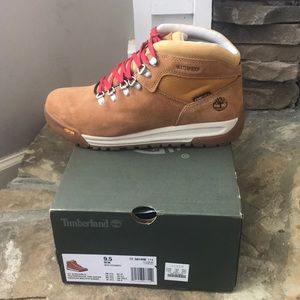 New* Timberland GT Scramble Brown Suede Size 9.5